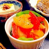 オレンジとトマトのサラダ