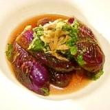 サッパリ薬味の焼き茄子
