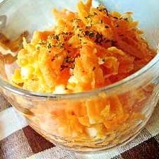 にんじんとゆでたまごのサラダ