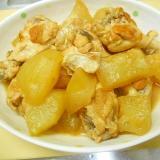 圧力鍋で冬瓜と鶏手羽元の煮物