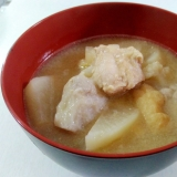 ボリューム満点☆鶏汁