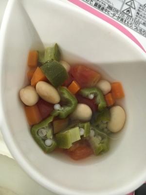離乳食 完了期 野菜とお豆の和風煮