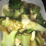ブロッコリーと豆腐の蟹出汁あんかけ