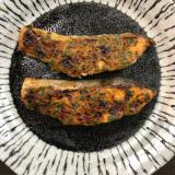 秋鮭の味噌マヨ焼き