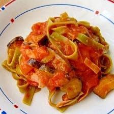 夏野菜を美味しく!トマトクリームパスタ