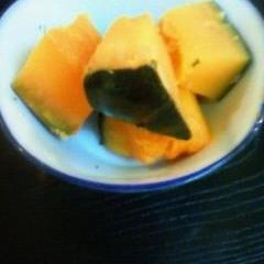 材料は2つだけ・かぼちゃの煮物