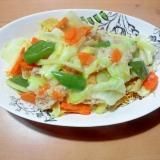 残り物の野菜で、皿うどん♪