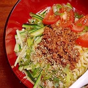 冷やし担々麺(塩分1.83g)