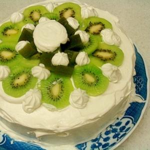 水羊羹のケーキ