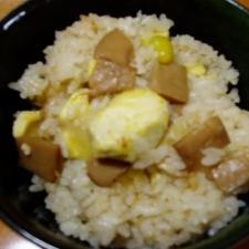 松茸ご飯のもとで♪秋の炊き込みご飯