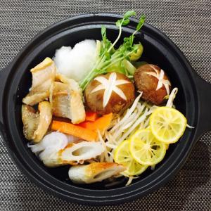 【鍋レシピ11選】(2)鯛ゆず鍋