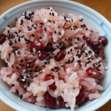 炊飯器で簡単☆お赤飯