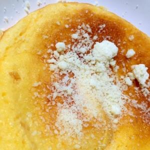 パルメザンチーズのスフレオムレツ