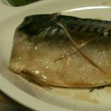 塩分控え目、鯖の味噌煮