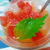 アイス☆梅ベジフルーツジュース♪