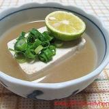簡単に・・湯豆腐♪