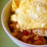 ♥ ふわふわた卵のせビビンバ丼 ♥