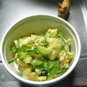 【うま塩】で簡単きゅうりとじゃがいものサラダ