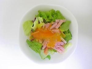 ハムのグリーンサラダ