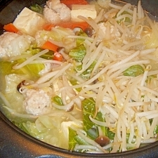 鶏団子塩麹鍋