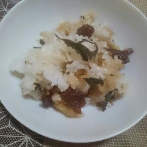 アサリしぐれ煮の混ぜご飯