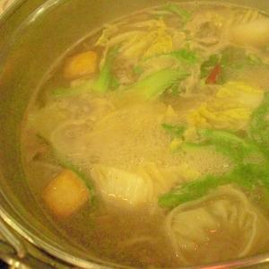 野菜餃子鍋