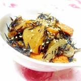 ダシダで作ろ❤ひら天と玉葱とひじきの炊いたん❤