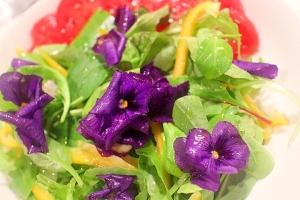 【簡単おもてなし】エディブルフラワーで花咲くサラダ