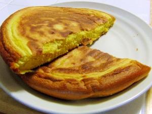 ふわふわ食感♪野菜ジュースのパンケーキ