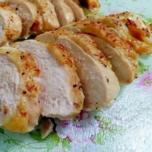 鶏むね肉で☆ローストチキン