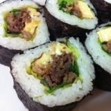 ☆牛のしぐれ煮で巻き寿司☆