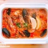 コストコのスープで簡単!海鮮リゾット