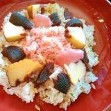 数の子&伊達巻&桜でんぶの散らし寿司
