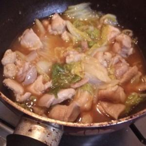 鳥と白菜のうま煮☆ヘルシーに満腹