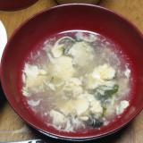 卵中華スープ