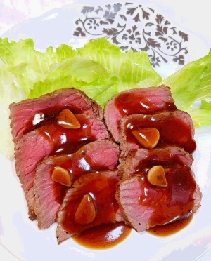 柔らかお肉が美味しいローストビーフ♪失敗しない☆