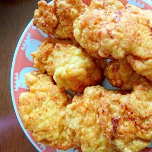 鶏むね肉で!!簡単★ナゲット★