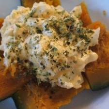 かぼちゃのタルタルサラダ