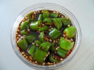 青 唐辛子 食べ 方