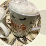 おうちカフェ♪ふわふわミルクのカフェラテ
