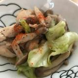 シリコンスチーマーで簡単☆鶏キャベツのポン酢煮