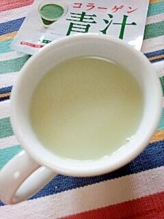 ホッと☆美肌きなこグリーンミルクティー♪
