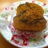 アンチエイジング~な黒胡麻ときな粉のパウンドケーキ