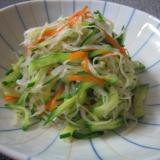 冷凍糸こんにゃくのサラダ  ~我が家のレシピ~