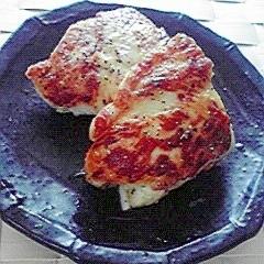 塩麹でささみのしそチーズ
