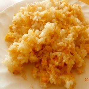 ご飯と卵で!フライパン1つでたまごはん!