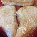 モウカザメのムニエル 甘味をトッピング