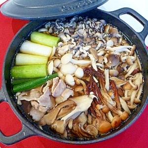 きのこどっさり木こり鍋