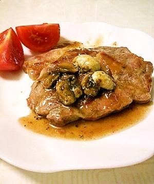 苺ジャムで簡単フレンチ☆豚肉のソテー