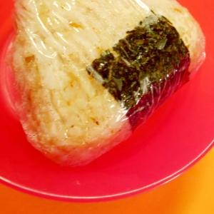 切り餅使用♫ 中華おこわ風おにぎり
